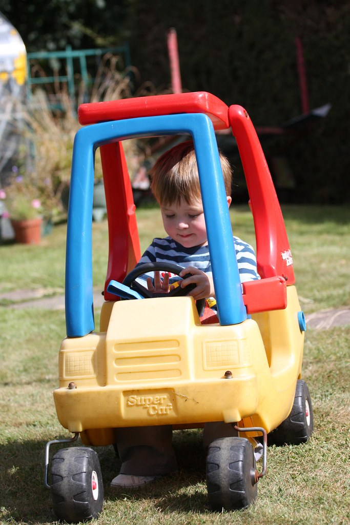 He Loves Fancy Cars