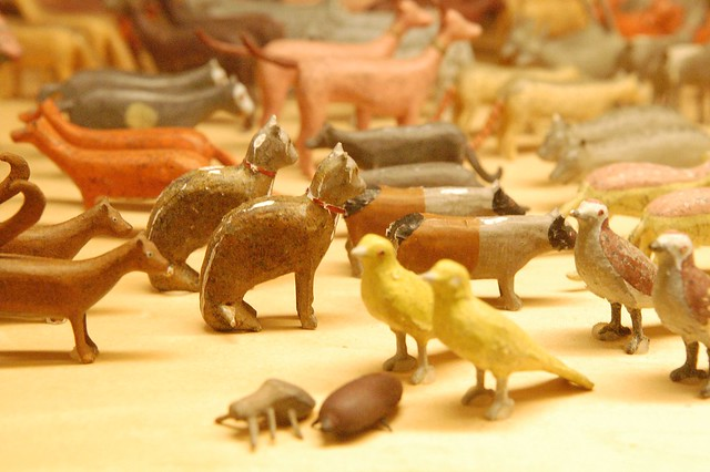 Noah's Ark Wooden Figurines