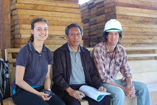 Judith Schleicher, Moh. Tabur (Director of Aketajawe-Lolobata National Park), and Gavin Lee (Site Environment Officer of PT Weda Bay Nickel) | by East Asia & Pacific on the rise - Blog