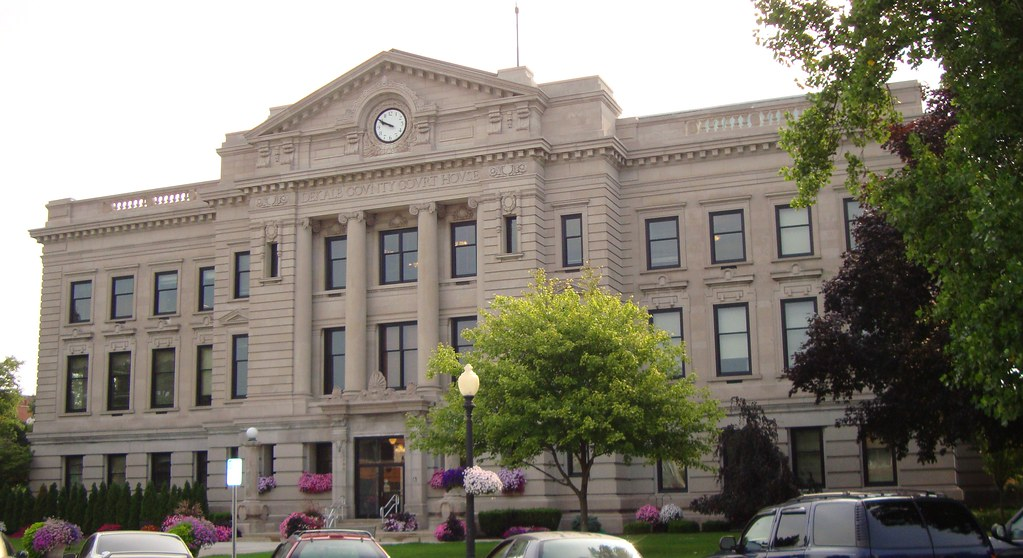 Pleasing Dekalb County Courthouse Auburn Indiana The Building Or Download Free Architecture Designs Scobabritishbridgeorg