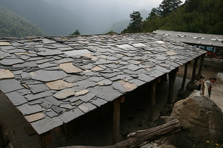 Slate roof | by david3108