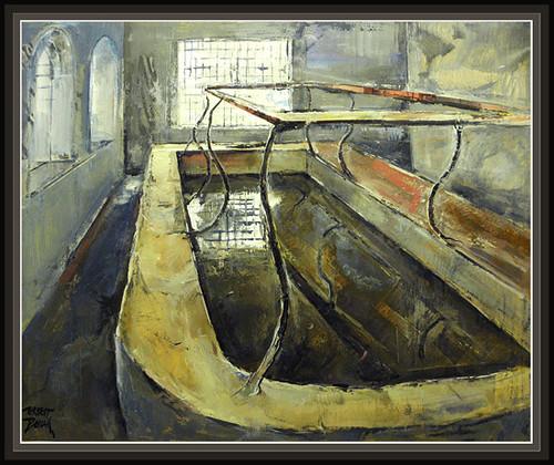 La senia tarragona antiguo lavadero pinturas urbanas d flickr - El tiempo en la senia tarragona ...