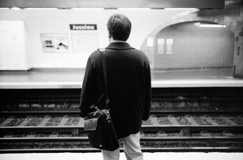 Métro Jussieu, Paris, septembre 2009 | by Thomas Claveirole