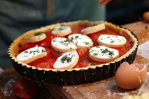 tarte aux tomates | by David Lebovitz