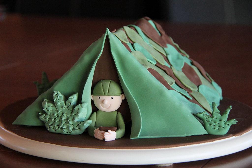 ... Army tent cake | by Coco Jo Cake Design & Army tent cake | I canu0027t take the credit for this cake I acu2026 | Flickr