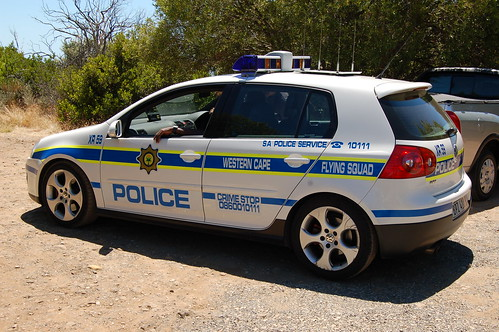 The Flying Squad Cape Town Police Golf Gti Lens Envy