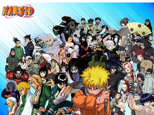 naruto main characters all naruto main characters flickr