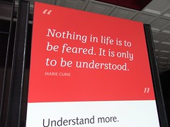 nothing in life is to be feared | by TheCreativePenn