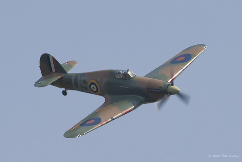 Hawker Hurricane XII-Friendly Foes 2009- 20090606_2795 1600 | by Bill Lindsay