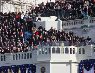 President Obama, happy to be inaugurated | by jurvetson
