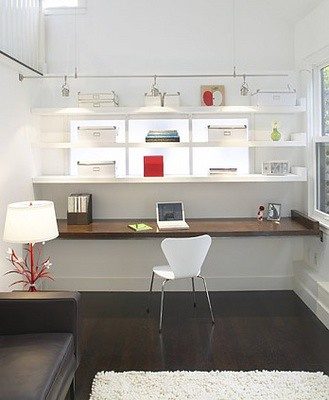 ... Office: Built In Desk | By Camillestyles
