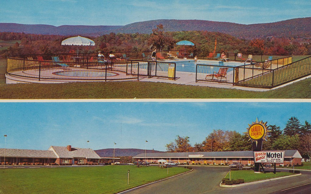 Breeze Manor Motel - Breezewood, Pennsylvania