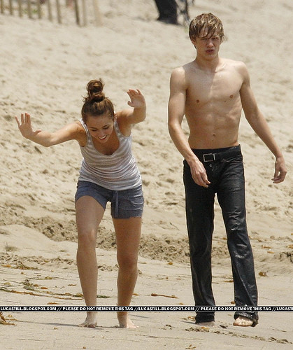 Miley Cyrus and Lucas Till | so hot | Miley + Lucas