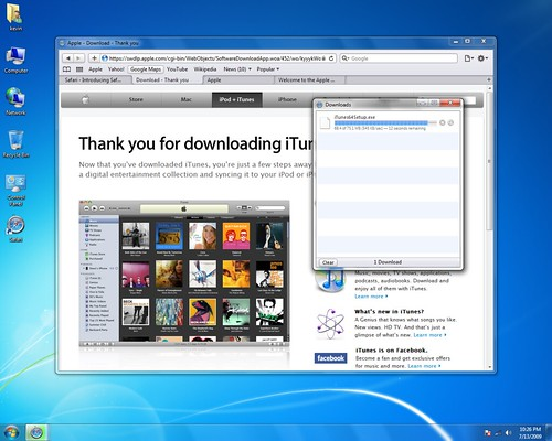 Safari on windows 7 tabs | it seems that safari 4 for wind… | flickr.