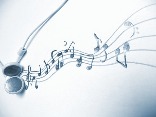 Music - an art for itself - Headphones and music notes / musical notation system | by photosteve101