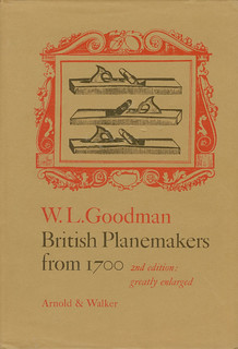 British Planemakers from 1700 - by W.L. Goodman - 2nd edition greatly enlarged - Arnold & Walker, London UK - 1978 - | by ala3letter