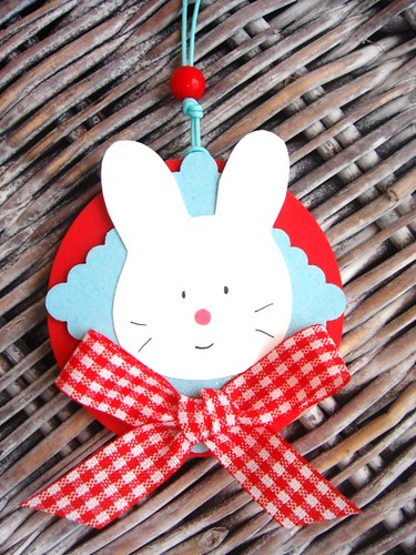 easter bunny hung tags | by kings&Queens