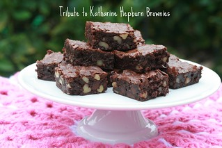 Food Librarian - Katharine Hepburn Brownies | by Food Librarian