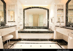 The Peninsula: Grande Deluxe Bathroom | by The Diary of a Hotel Addict