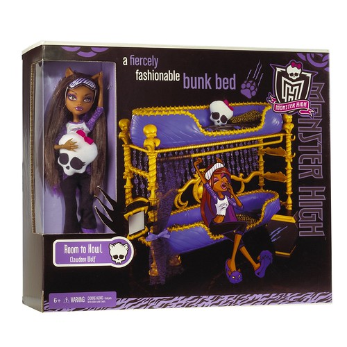MH Dead Tired Clawdeen w/ Bed! | by xClaribelx