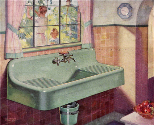 1929 Standard Kitchen Sink Source Better Homes