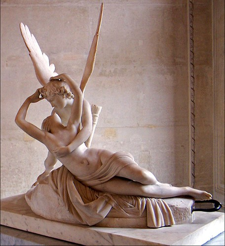 Milto Leite: Antonio Canova - Psyche Revived By Cupid's Kiss