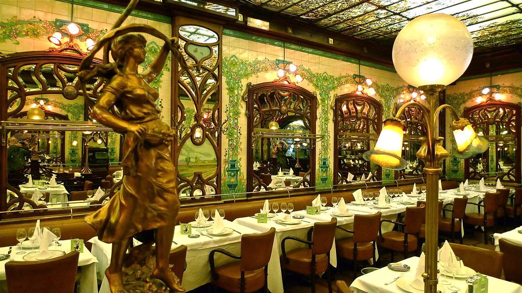 art nouveau restaurant montparnasse 1900 antiguo bistro d flickr