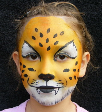 face painting leopard visit our website flickr. Black Bedroom Furniture Sets. Home Design Ideas