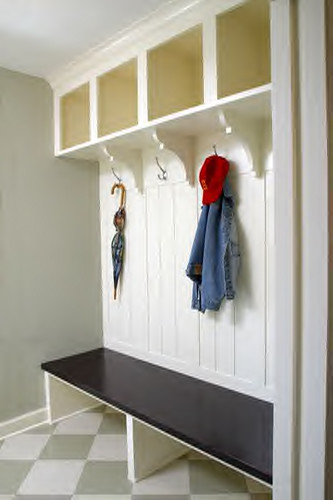mudroom | Home Designed by Ron Brenner of ron brenner ...