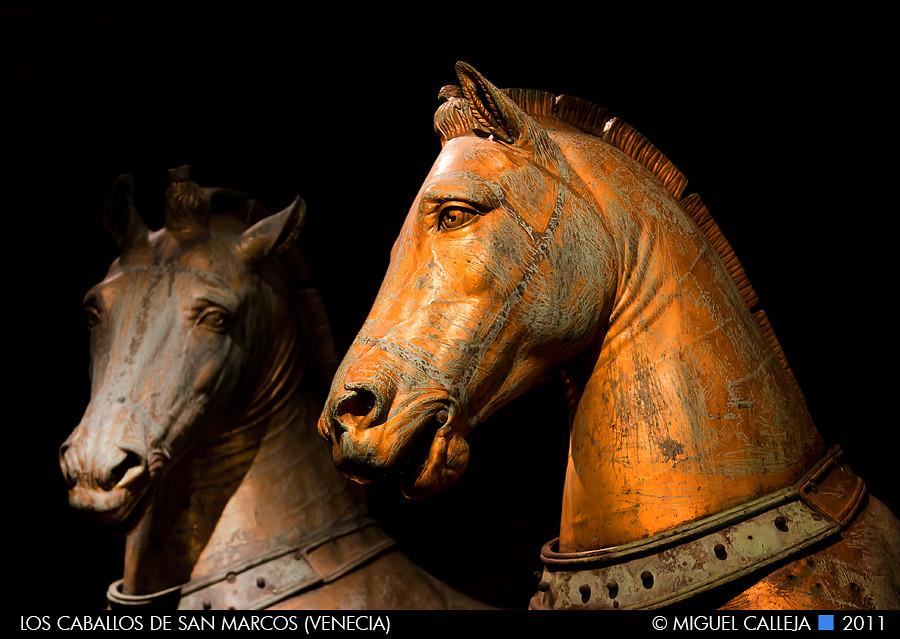 LOS CABALLOS DE SAN MARCOS | Las figuras originales, retirad… | Flickr