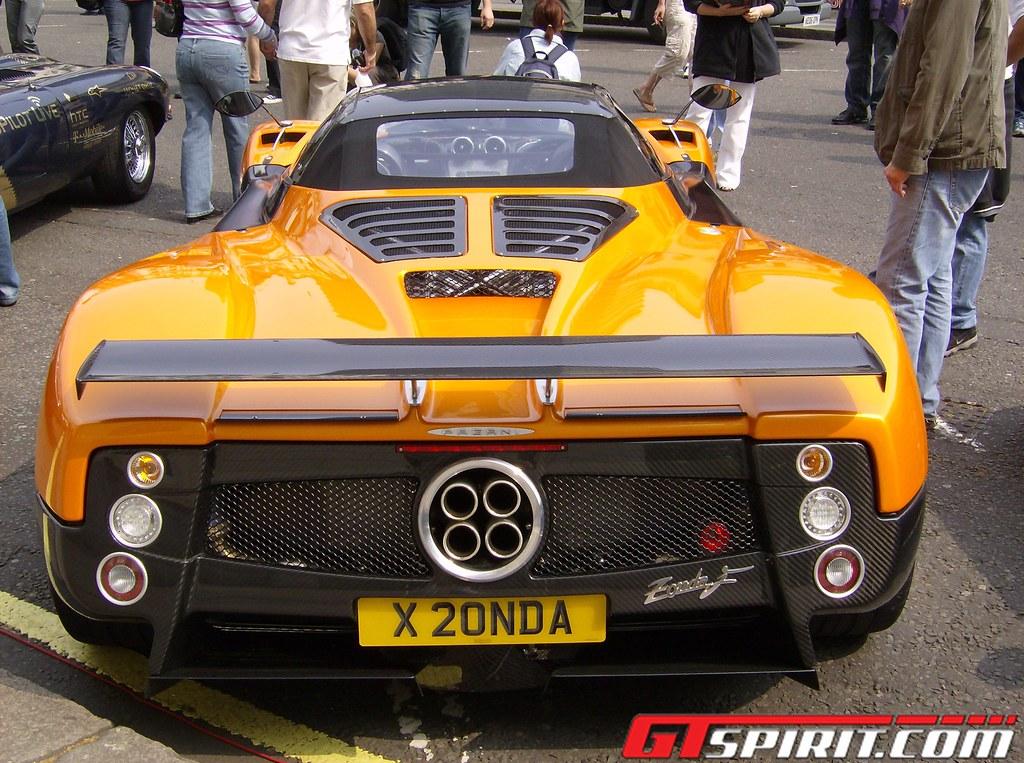 pagani zonda f roadster - group 20 | gumball 3000 - 2007 pag… | flickr