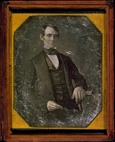 [Abraham Lincoln, Congressman-elect from Illinois. Three-quarter length portrait, seated, facing front] (LOC) | by The Library of Congress