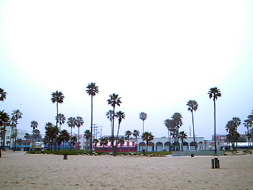 Sidewalk Cafe Venice Beach Ca