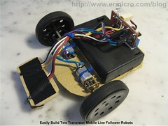 Build Your Own Transistor Based Mobile Line Follower Robot (04) | by ermicroinfo