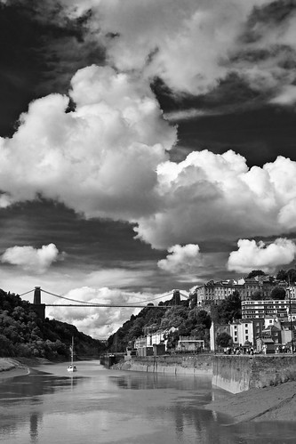 Clifton bridge BW | by LongLensPhotography.co.uk - Daugirdas Tomas Racys
