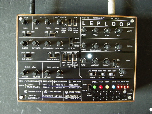 leploop pre production wood box and panel | by tonylight