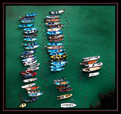 liguria_IT_5terre: Vernazza boats | by juvani photo | digital art