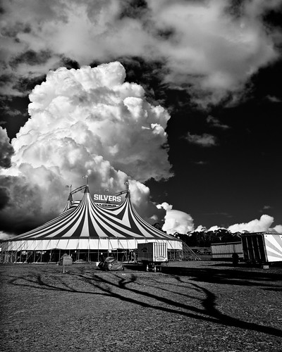 cumulus over bigtop | by gazrad
