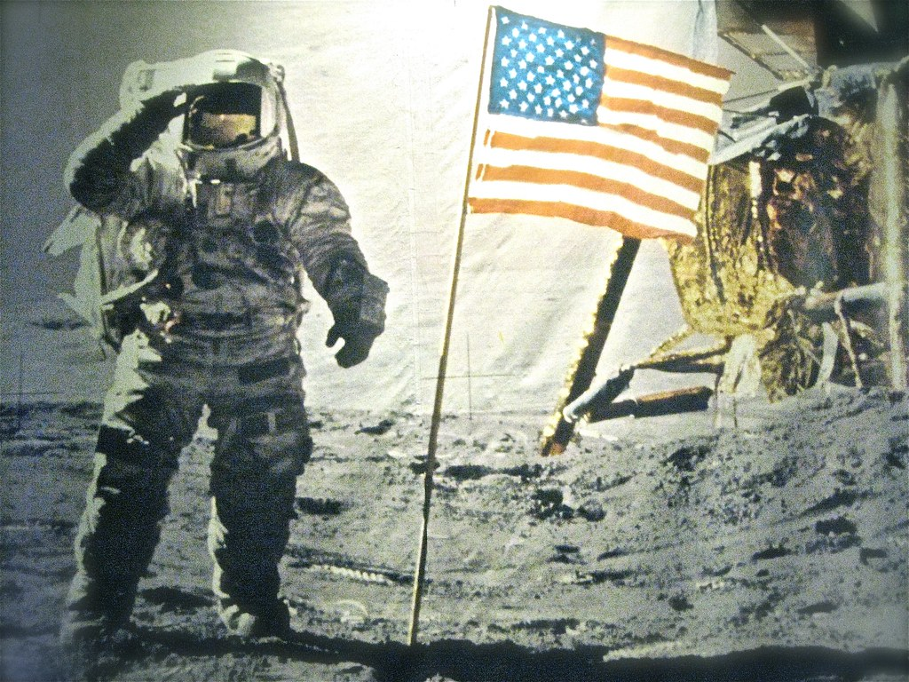 Image result for first man on the moon