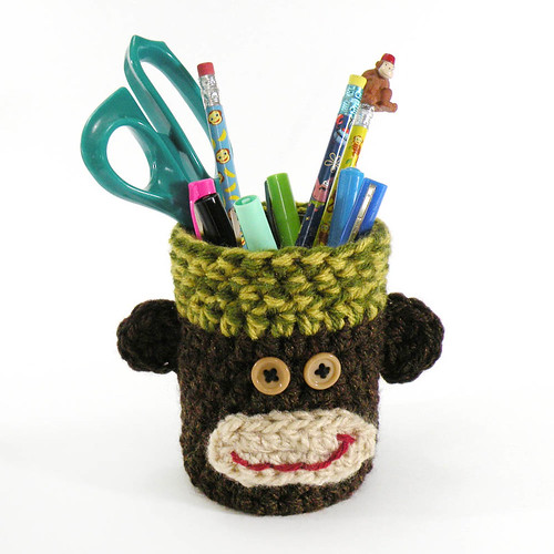 MONKEY PENCIL CUP - Raleigh | by iSew