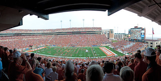 UT vs. University of Louisiana at Monroe Panorama | by DaveWilsonPhotography