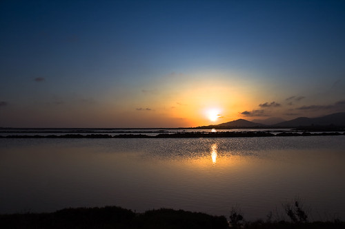 Sunset at Salinas Ibiza | by ibzsierra