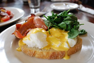 Eggs Benedict with Bacon - The Maling Room AUD13 | by avlxyz