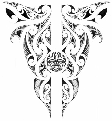 Maori Kirituhi Tattoo: All Images Are Partially Finished