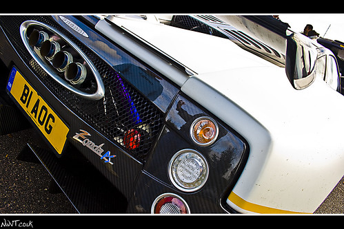 Peter Saywell Edition Pagani Zonda Rear Quarter Detail Shot | by NWVT.co.uk
