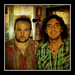 MIQUEL BARCELÓ AND ME TODAY AFTERNOON | by llorenç gris