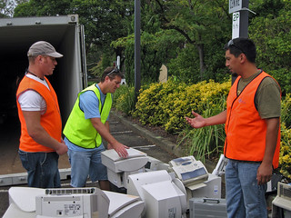 E-waste collection | by Mosman Council