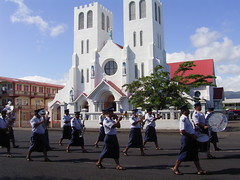 Flag Raising March - Samoa | by whl.travel