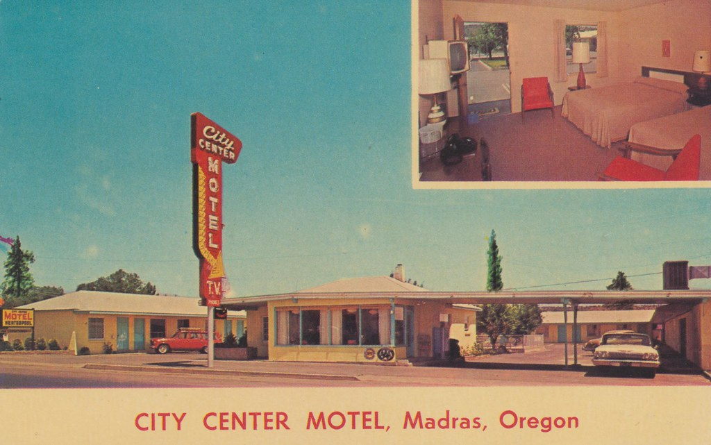 City Center Motel - Madras, Oregon