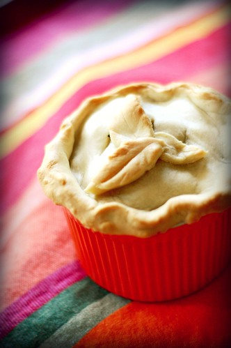 mini chicken pot pie | with bacon and marjoram. adapted from ...